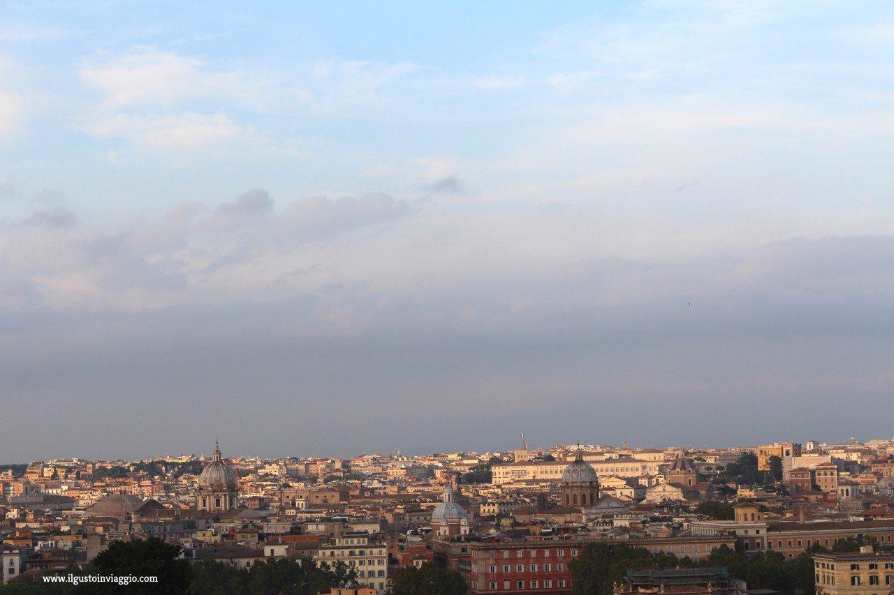 gianicolo, due giorni a roma
