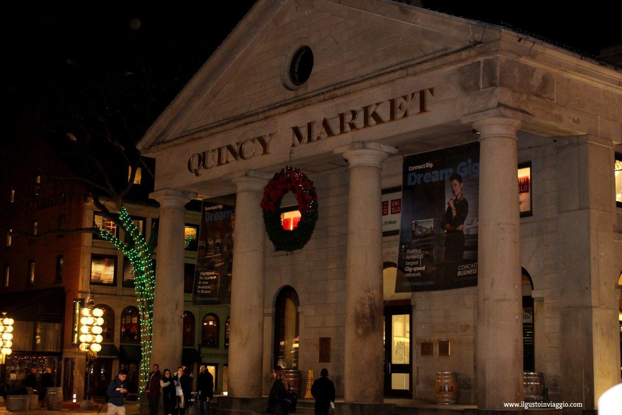 cosa comprare al quincy market Boston, faneuil hall