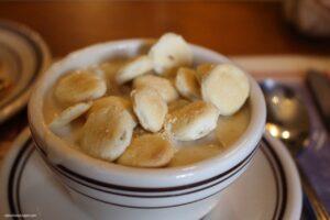 mangiare la clam chowder a boston union oyster house Boston ClamChowder