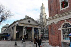 mercatini di natale di boston, quincy market boston, cosa comprare al quincy market, cosa vedere a boston