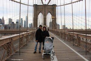 new york gratis con bambini, attraversare ponte brooklyn