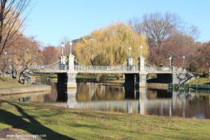 passeggiata al boston common park di boston, boston common park