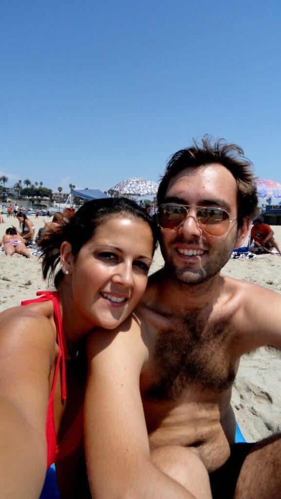 spiaggia di santa monica, santa monica pier, california