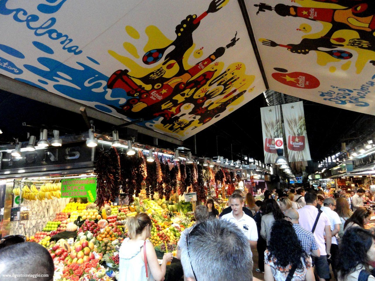 week end a barcellona, la boqueria