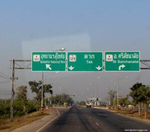 guidare in thailandia, noleggio auto thailandia, sukhothai national park