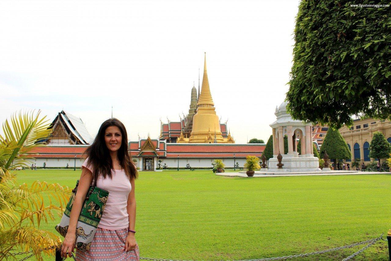 itinerario a piedi di bangkok, grande palazzo reale bangkok