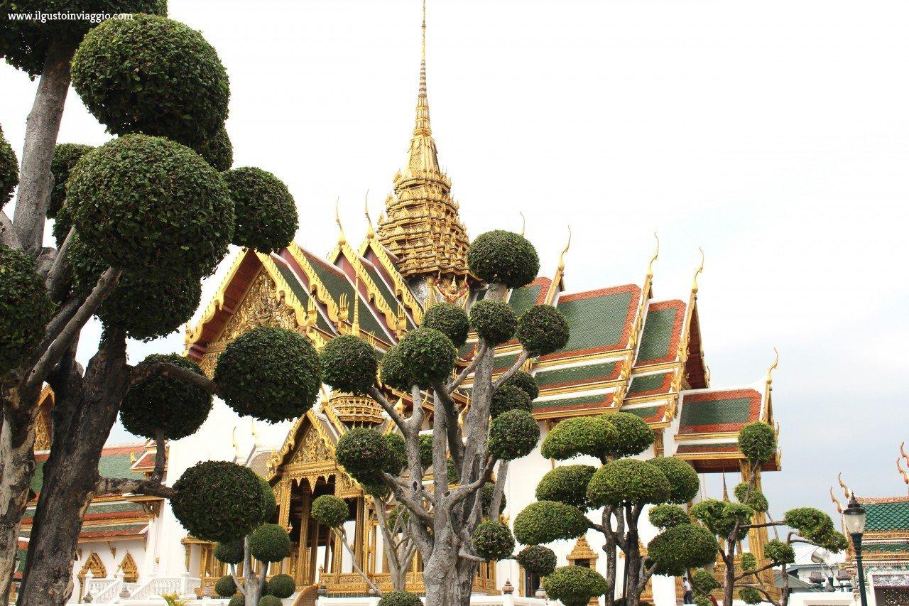 itinerario di due giorni a bangkok , itinerario a piedi di bangkok, grande palazzo reale bangkok