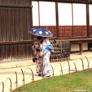 geishe, giapponesi, japans girls, kyoto, visita al nijo castle