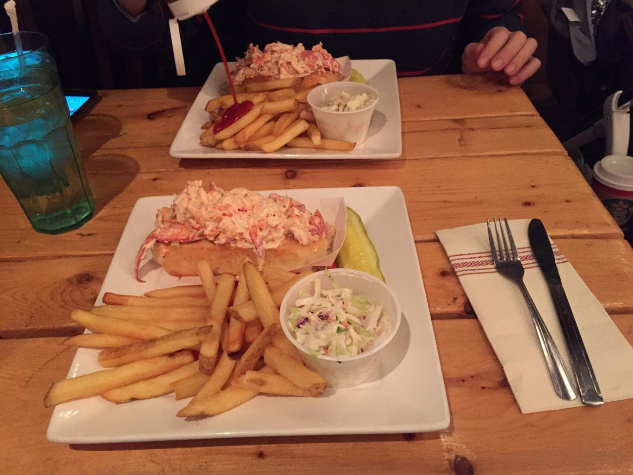 The Barking Crab, dove mangiare lobster rolls a boston,