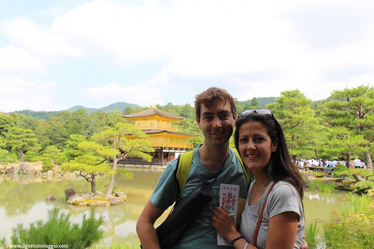 visita al padiglione d'oro di kyoto, tempio d'oro kyoto, kinkaku ji