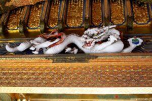 visitare il toshogu, nikko, gatto dormiente nikko