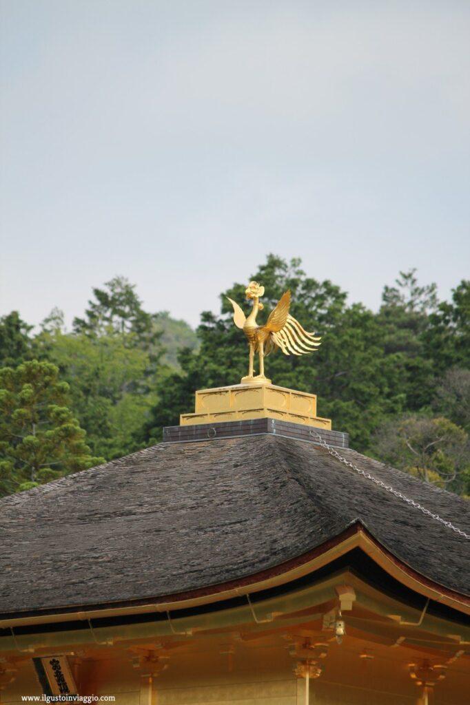 visita al padiglione d'oro di kyoto, kyoto, kiknakuji, tempio d'oro