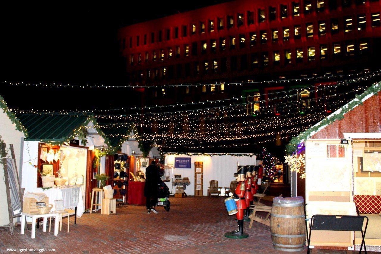 mercatini di natale di Boston, Natale a Boston