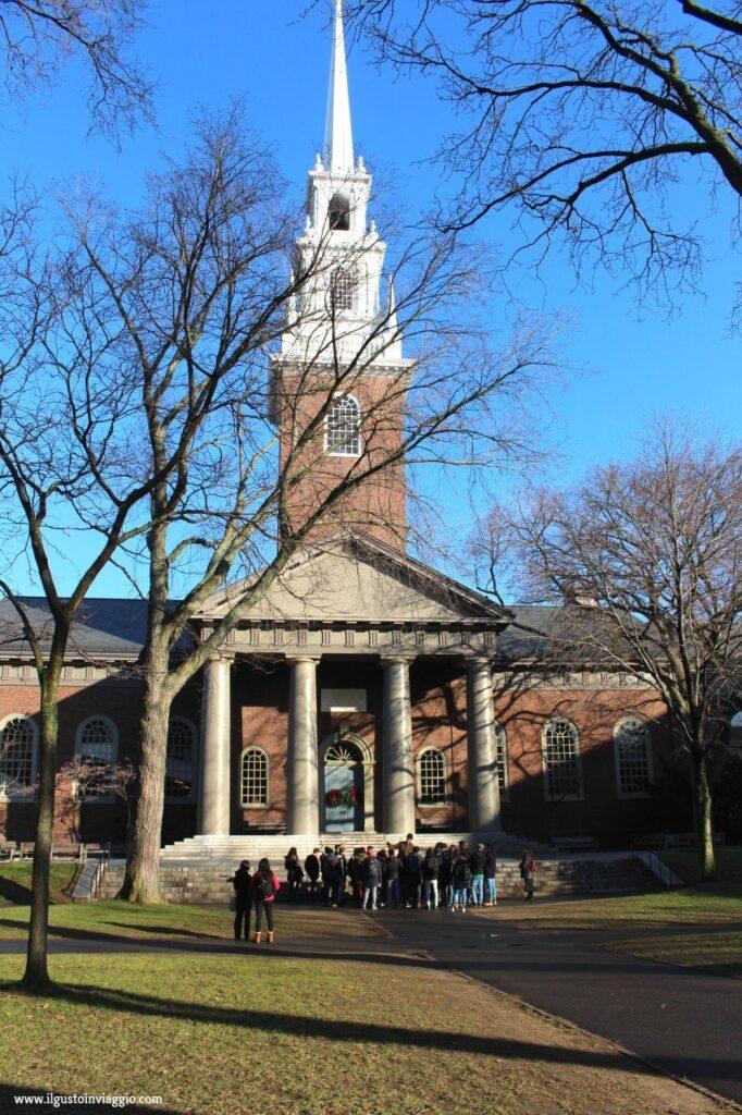 cosa vedere ad harvard, harvard university, church harvard, visitare harvard