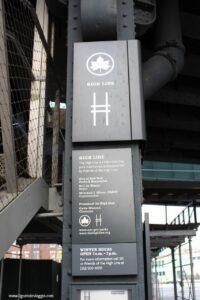 highline con i bambini, ingresso ganservood street new york