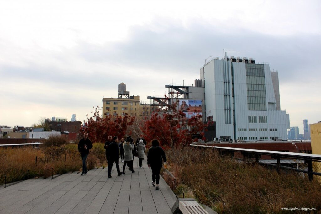 5 giorni a new york, highline con i bambini, new york high line