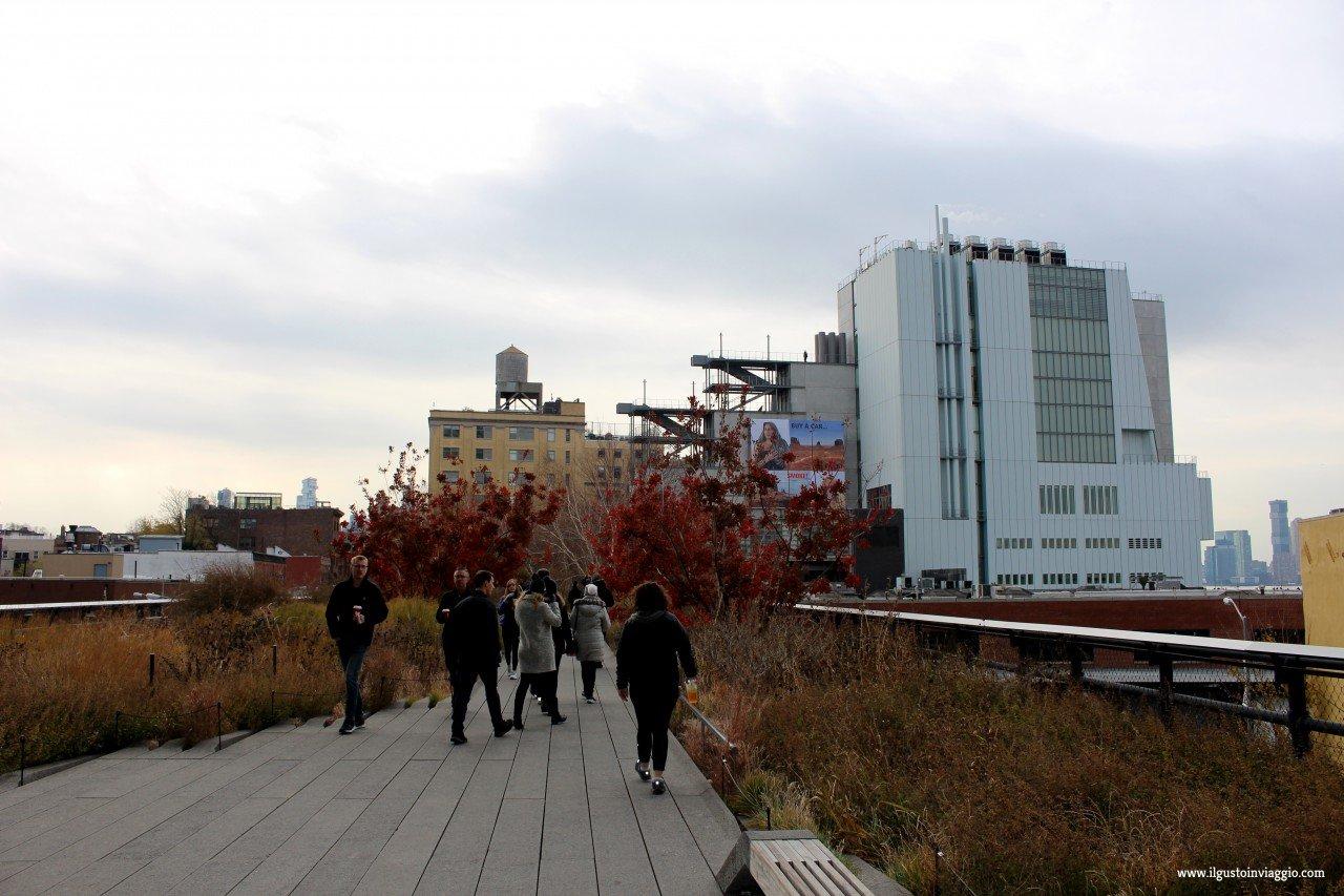 highline con i bambini, new york high line