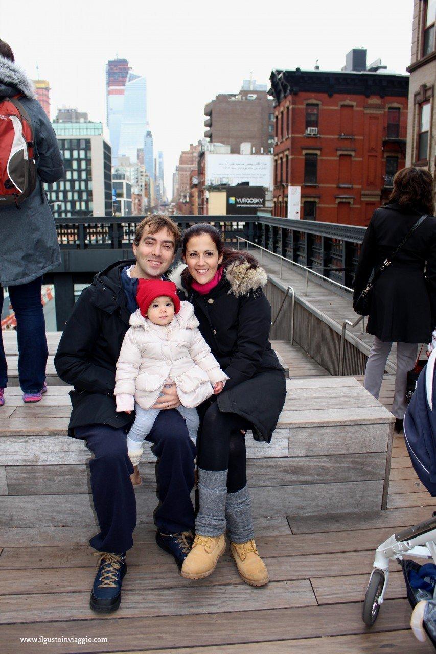 highLine con i bambini, new york, chelsea market