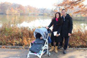 new york gratis con bambini, mangiare central park, bow bridge