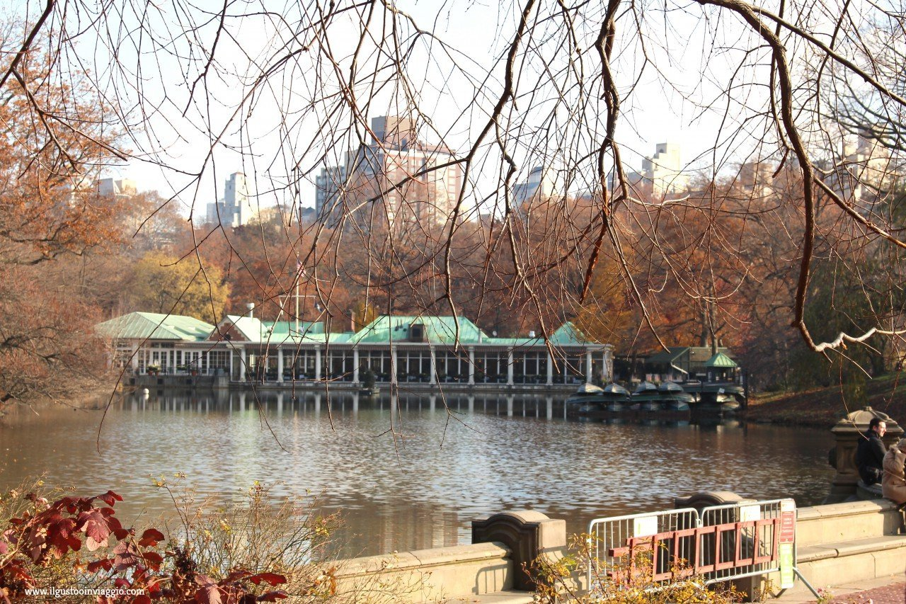 the loeb boathouse, dove mangiare a central park,