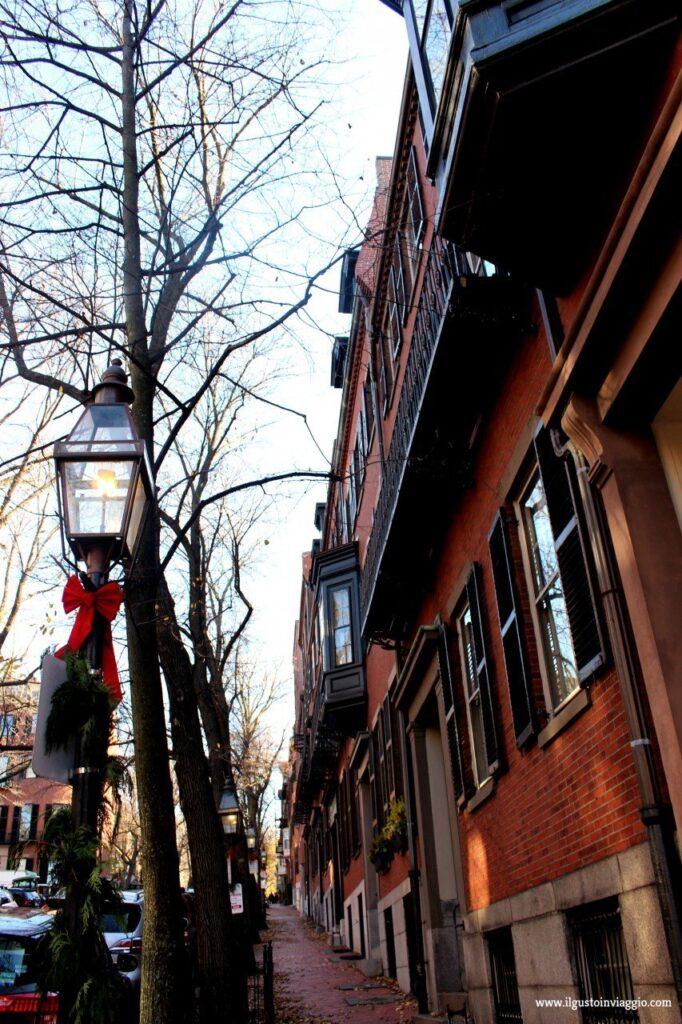 beacon hill boston, natale a boston, mercatini natale boston