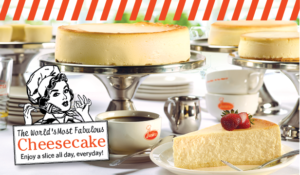 mangiare la migliore cheesecake di new york, juniors cheesecake