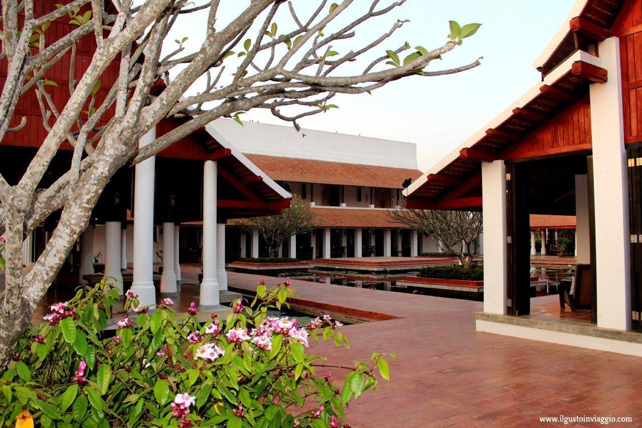 sukhothai heritage resort, dove dormire a sukhothai, hotel a sukhothai