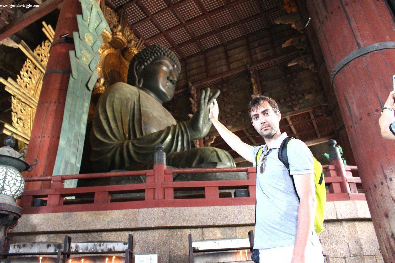 grande buddha todaiji nara, nara buddha, tempio todaiji di nara