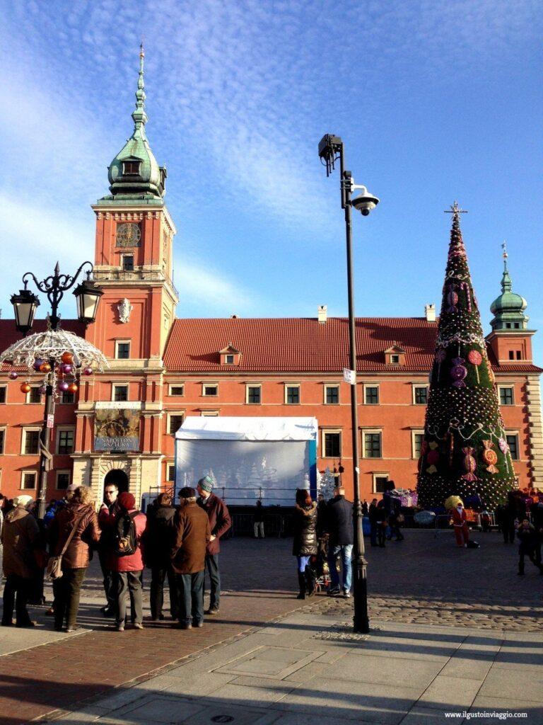 mercatini di natale di Varsavia, due giorni a varsavia, stare miasto varsavia, castello varsavia