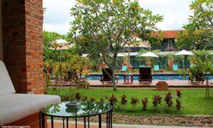 10 giorni in thailandia, dormire a sukhothai, pool sukhothai heritage resort