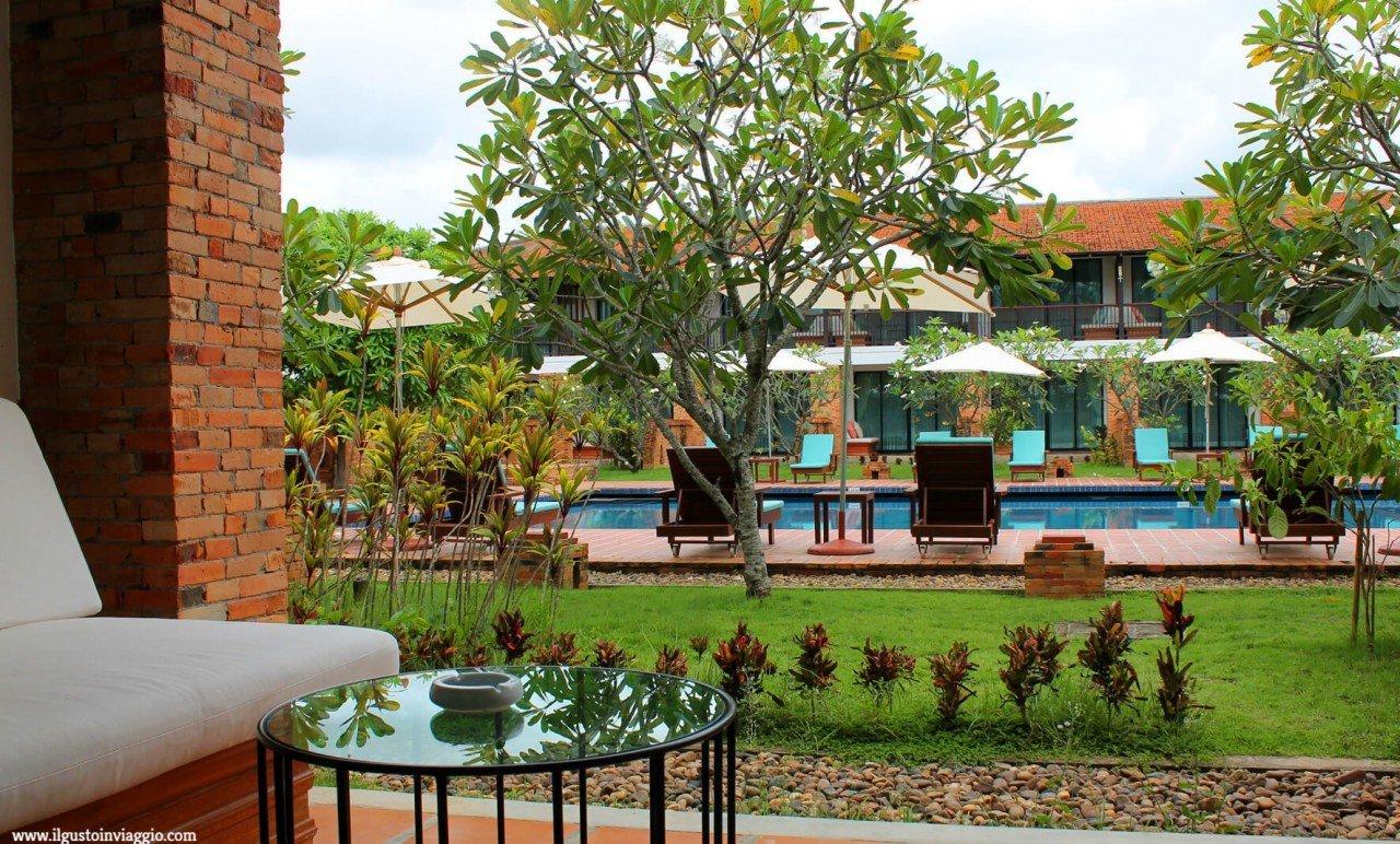 dormire a sukhothai, pool sukhothai heritage resort