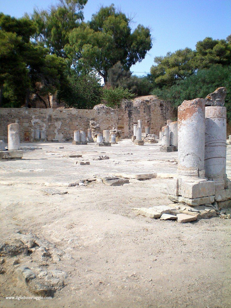 scavi di cartagine, tunisia museo cartagine