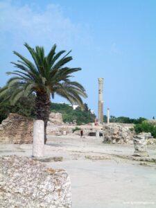 scavi di cartagine,sito archeologico cartagine, cartagine tunisia