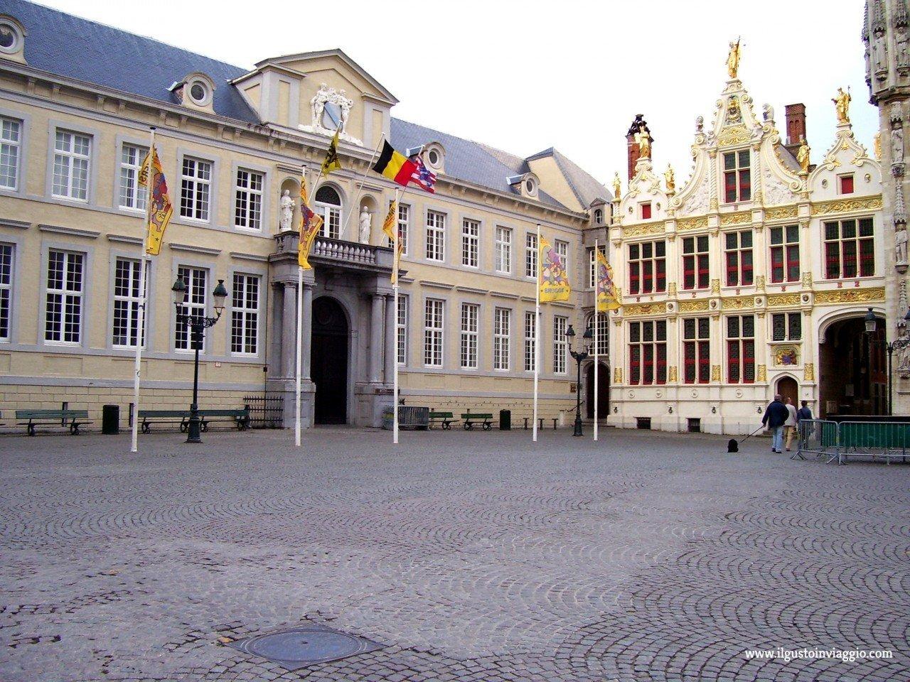 due giorni a bruges, municipio city hall bruges
