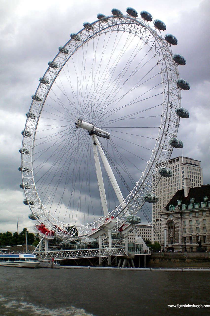 londra dal london eye, London Eye, London