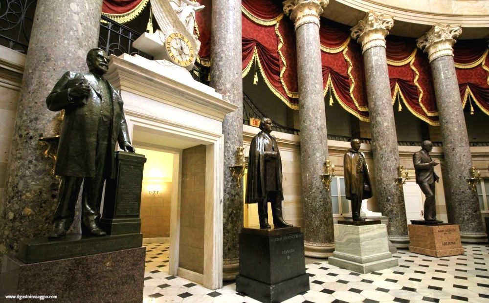 capitol hill, us capitol, national statuary hall, visitare capitol hill