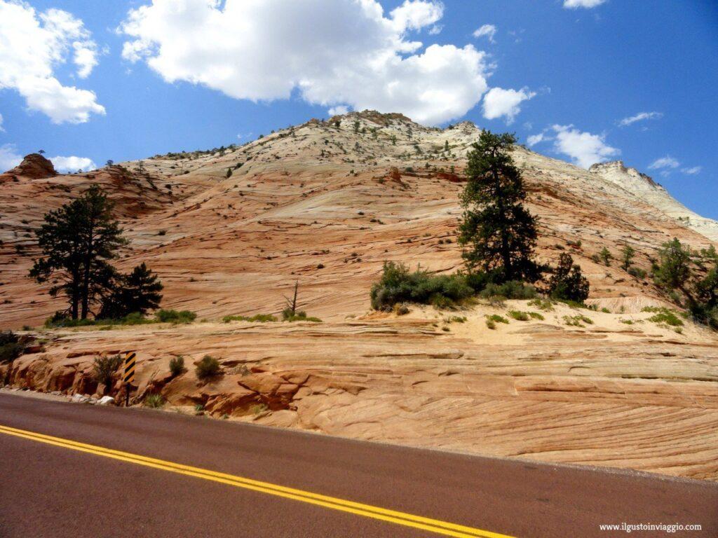 scenic drive usa park, visitare zion national park, zion, Utah