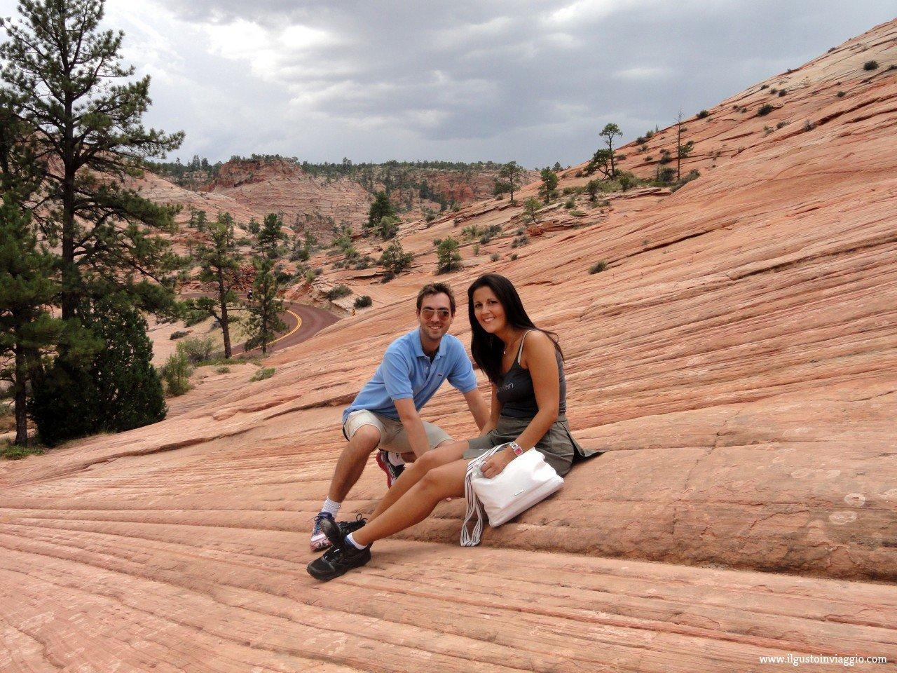 visitare lo zion canyon national park, zion utah
