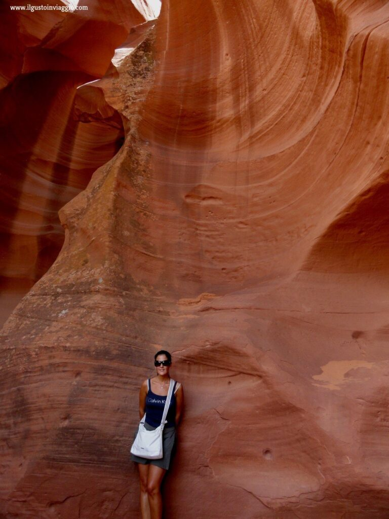 visitare l'upper antelope canyon, arizona, antelope canyon