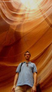 visitare l'upper antelope canyon, antelope canyon arizona