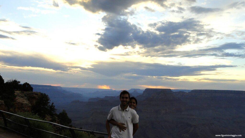 grand canyon, desert view street , visitare il grand canyon