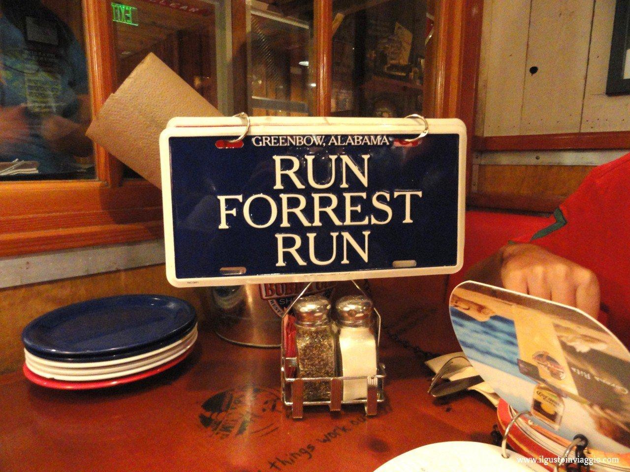 run forrest run, mangiare da bubba gump santa monica pier