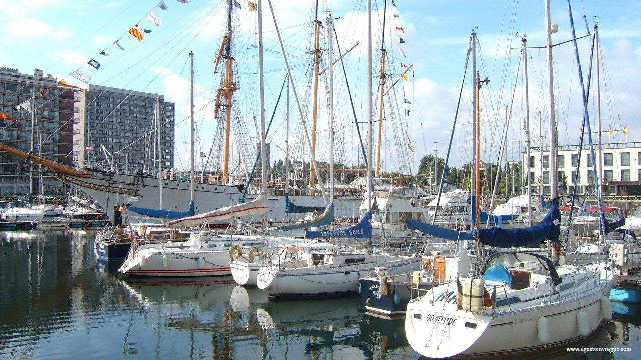 ostenda e il mare del nord, ostenda, yacht