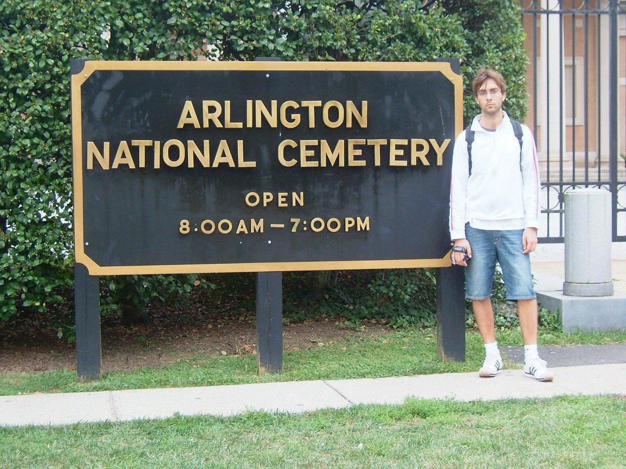 visita al cimitero nazionale di arlington