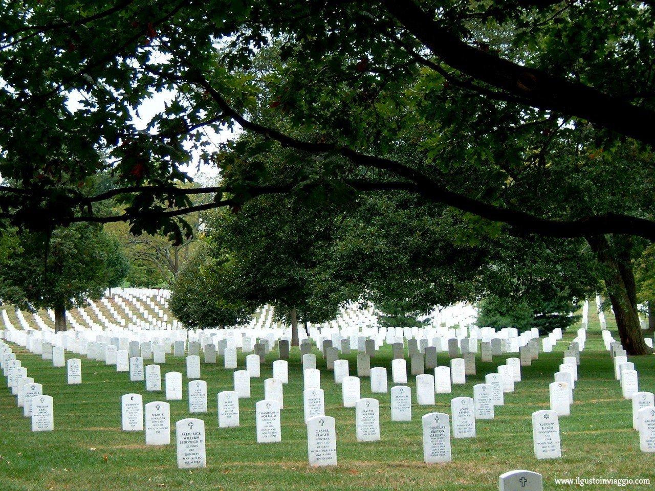 visita al cimitero nazionale di arlington, arlington cimetery
