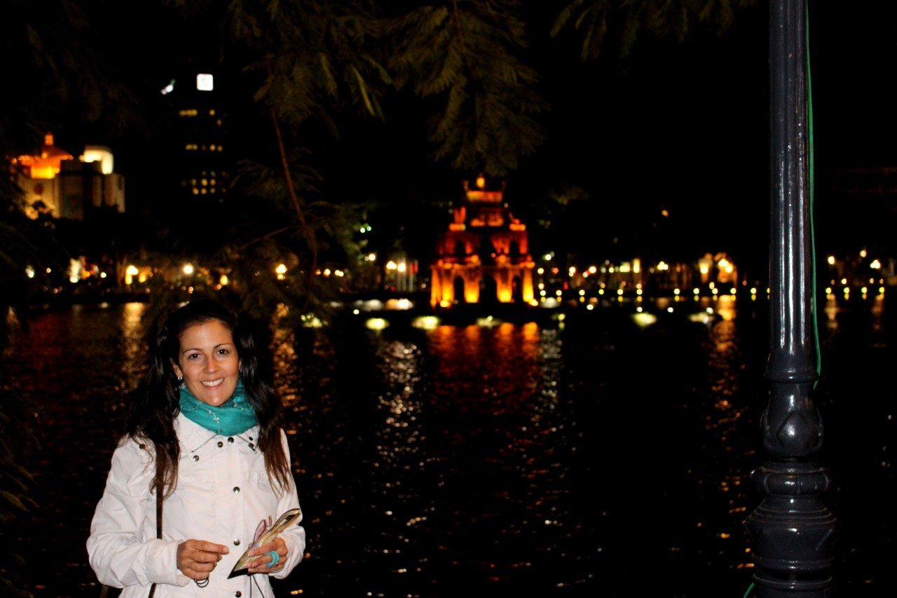 due giorni ad hanoi, lago hoak hanoi