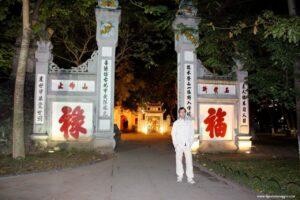 due giorni a hanoi, hanoi lago della spada restituita,