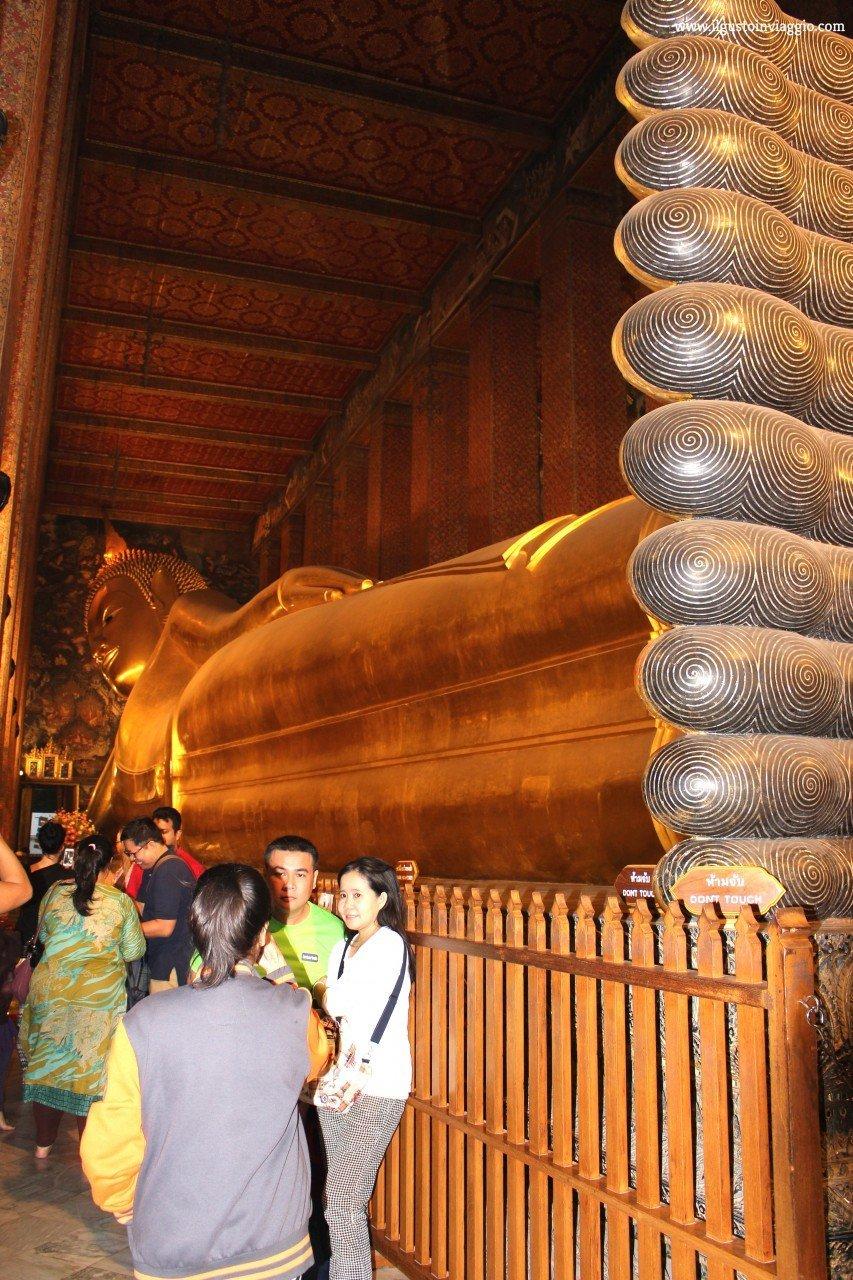 tour della thailandia, wat pho, buddha sdraiato del wat pho, bangkok cosa vedere