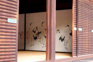palazzo imperiale di kyoto interno, sala trovo kyoto
