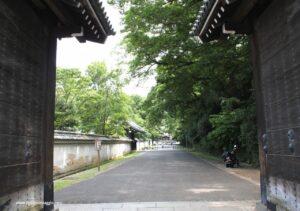 palazzo imperiale kyoto ingresso